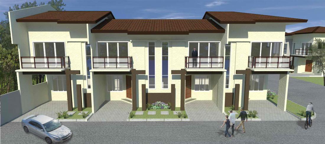 Alberlyn Box Hill Residences Athena House Model Cebu Filipino Homes