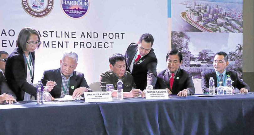 Freeport zone along Davao Gulf proposed